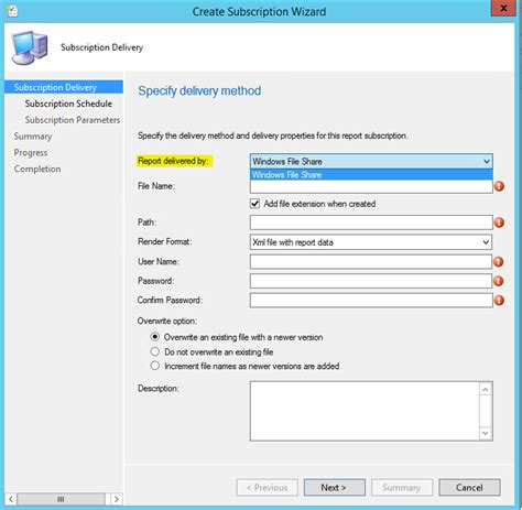 configuring email notification  configuration manager