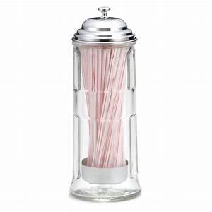 Distributeur De Paille : distributeur de paille en verre ~ Teatrodelosmanantiales.com Idées de Décoration