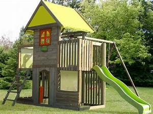 cabane portique enfant la redoute cabanes enfants With superb decoration d un petit jardin 0 cabane de jardin pour enfant jeux en plein air