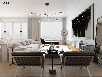 Living Luxury Apartment Interior Quadri Soggiorno Moderno