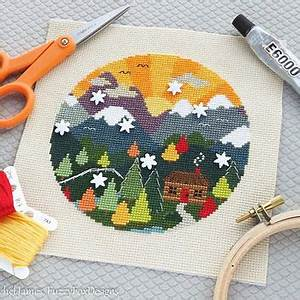 Shop Easy Cross Stitch Patterns For Beginners on Wanelo
