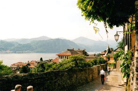 Lake Orta And Orta San Giulio Italy