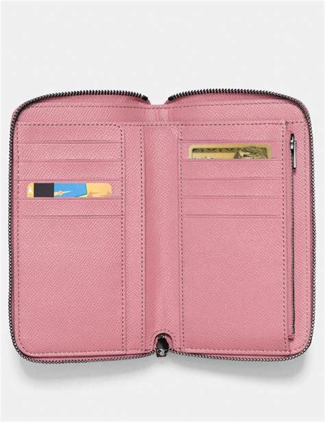 medium zip  wallet coach