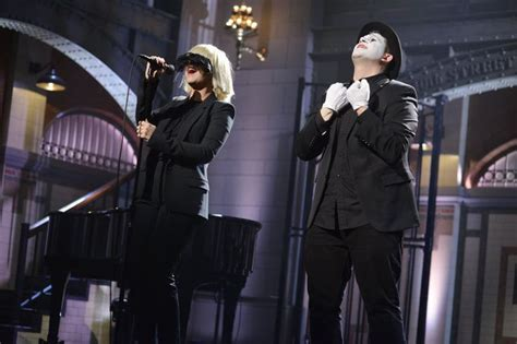 sia performing chandelier on snl 169 2015 edelson nbc