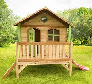 Maison Pour Enfant En Bois : cabane d 39 enfant en bois stef maisonnette en bois sur ~ Premium-room.com Idées de Décoration