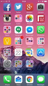 Organizing Your iPhone Homescreen