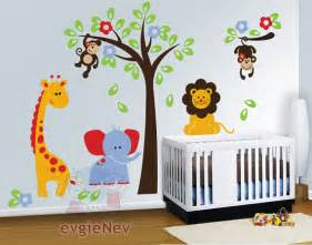Jungle Themed Wall Stickers
