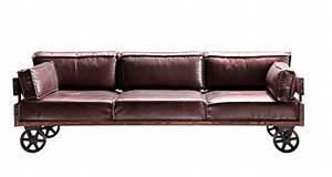 1 5 Sitzer Sessel : vintage sofa railway leder 3 sitzer m bel sessel sofas vintagehaus ~ Indierocktalk.com Haus und Dekorationen