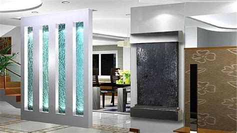 two color kitchen cabinet ideas decor glass indoor glass waterfall designs wall mounted