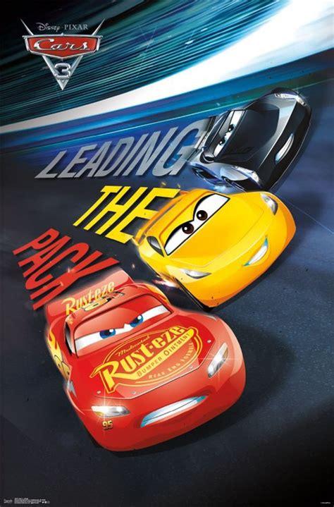 Disney Cars 3 Poster