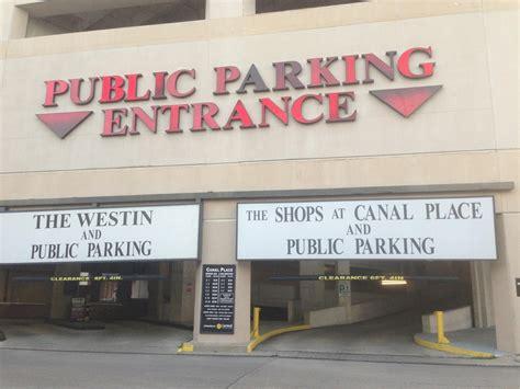fulton parking garage new orleans new orleans parking garages rates ppi