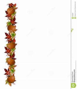 Thanksgiving Leaf Border Clip Art – 101 Clip Art