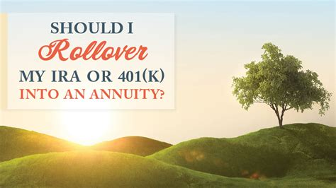 rollover  ira     annuity