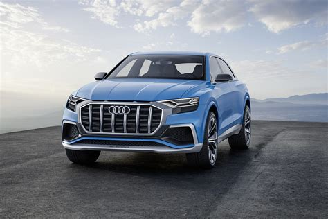 Audi Unveils Its Luxury Crossover Q8 Concept
