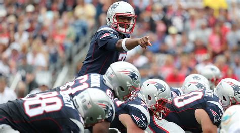 jacoby brissett ready   snap bill parcells