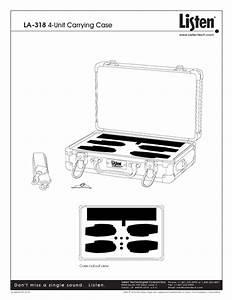 La-318 4-unit Manuals