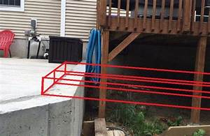 Building Out Deck To Meet Retaining Wall