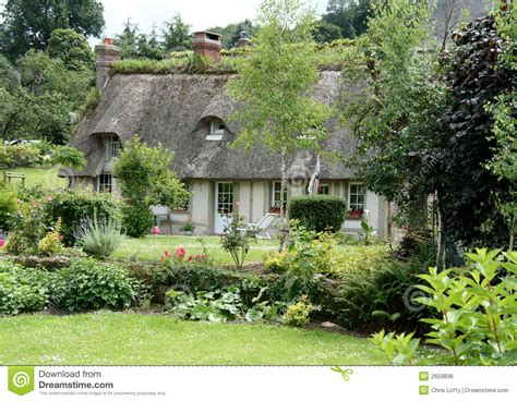 French Country Cottage Stock Photo Image Of Normandy