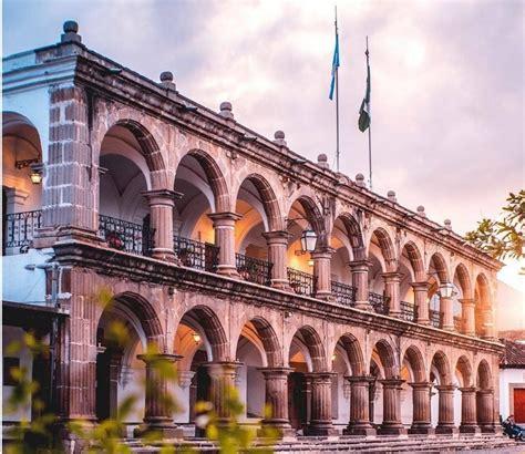 real palacio de los capitanes generales imperio chapin