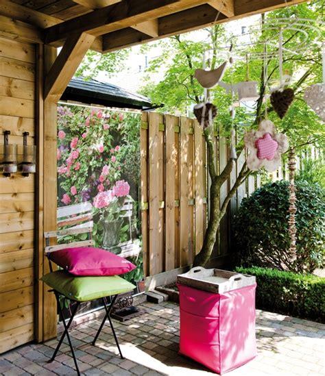 Terrassen Deko Garten by Dekoration Terrasse Garten