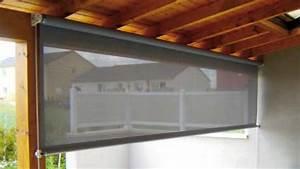 Rideau Exterieur Pour Terrasse : rideau coupe vent pour terrasse abs atlantique baches ~ Farleysfitness.com Idées de Décoration