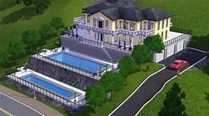 Maison De Riche : sims 3 villa de monaco architecture maison house jeu ~ Melissatoandfro.com Idées de Décoration