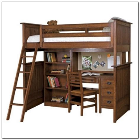 wood bunk bed with desk wood bunk bed with desk and drawers desk interior