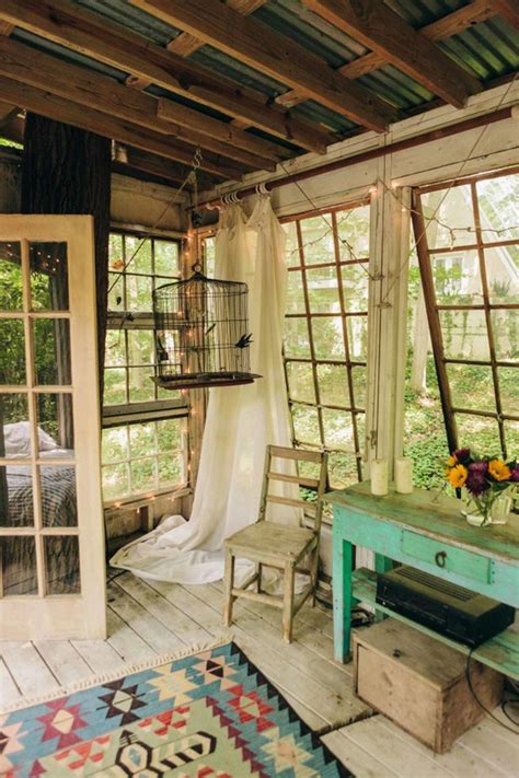 magical treehouse  recycled materials home design