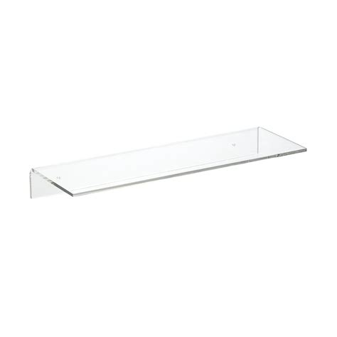 single wall shelf single acrylic wall shelves the container