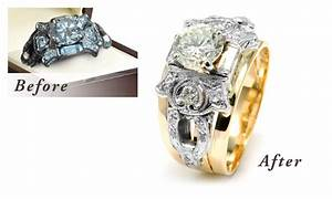 Restore antique jewelry inherited jewelry pieces with for Ideas for redesigning wedding rings
