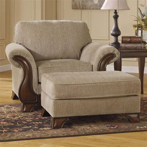 signature design  ashley lanett chair ottoman