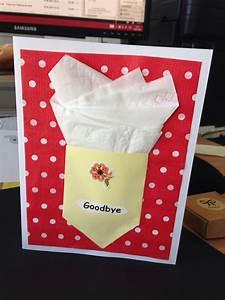 Karte Zum Abschied Einer Kollegin Basteln Pinterest