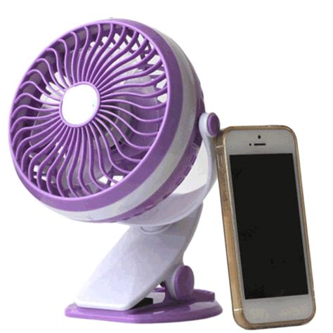 mini electric fan usb new practical 360 degree rotating usb powered metal