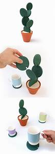 Cacti Coasters By Designer Clive Roddy On Etsy Is A Clever