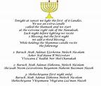 #Hanukah Prayers. First night we say 3 blessings. Happy # ...