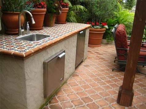 outdoor kitchen tile outdoor kitchen outdoor kitchen landscaping network 1309