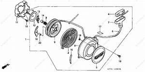 Honda Atv 2002 Oem Parts Diagram For Recoil Starter