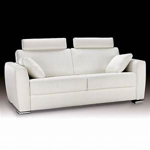 canape lit couchage quotidien awesome canap convertible With top canapé convertible