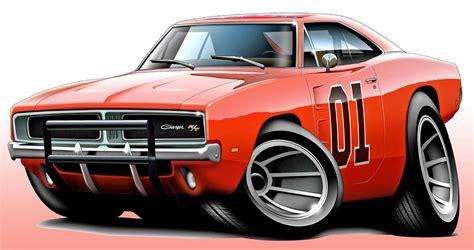 general lee dodge charger muscle car art print  ebay