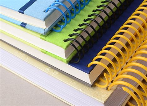 China Custom Hot Sale Blue Spiral Binding Notebook with ...