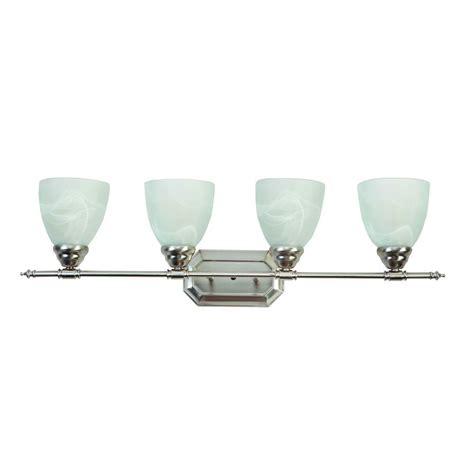 glass bathroom light shades yosemite home decor vanity lighting series 4 light brushed