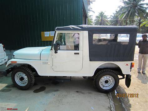 mahindra jeep thar my first new jeep the mahindra thar di finally team bhp