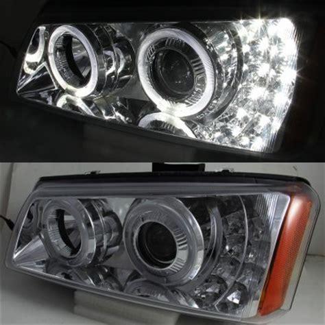 2004 chevy silverado halo lights chevy silverado 2500 2003 2004 chrome projector headlights