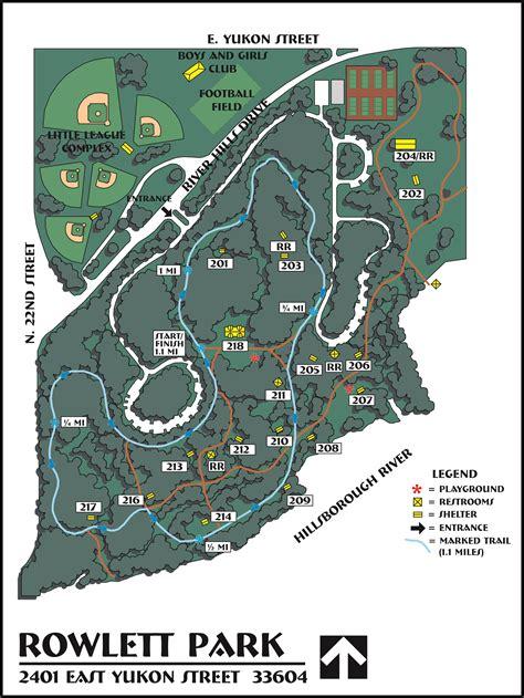rowlett park trail hillsborough river greenway city  tampa