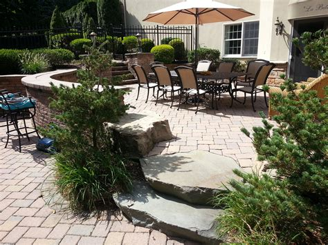 hardscape materials for patios hardscape masonry deboer landscapes