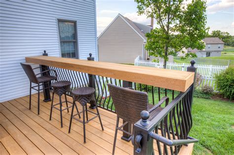 backyard wood deck unfinished ipe backyard deck in york pa stump s decks porches