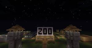 Minecraft Zoo Import Into Your World Minecraft Project
