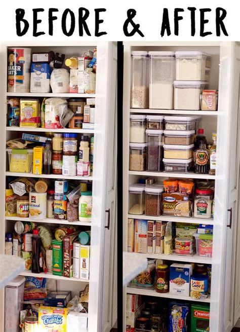Inexpensive Pantry Cabinets by Simple Pantry Organization Ideas For The Practical
