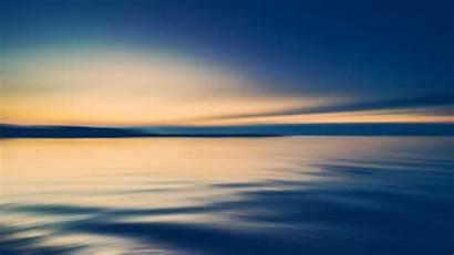 Sea 4k Sky Sunset Yellow Sun Shore