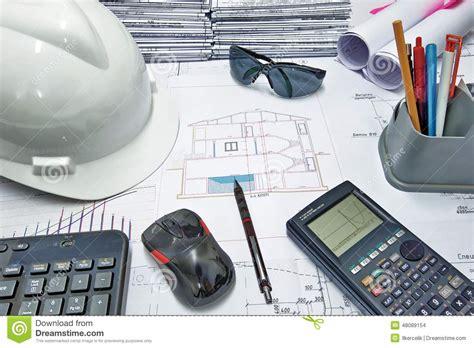 ingenieur en bureau d etude le bureau de l ing 233 nieur photo stock image 48089154